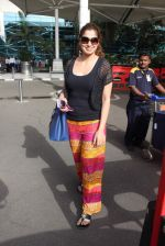 Laxmirai snapped at airport in Mumbai on 29th June 2015 (22)_55923c7c163c4.JPG