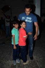 salman Khan snapped at mehboob studios on 28th June 2015 (29)_559230cacd02f.JPG
