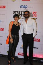 Mandira Bedi, Sunil Shetty at streetsmart street safe campaign launch by top gear magazine and mumbai police on  30th June 2015 (38)_5593af55a9ff3.JPG