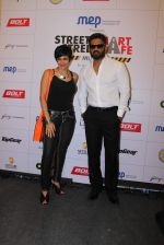 Mandira Bedi, Sunil Shetty at streetsmart street safe campaign launch by top gear magazine and mumbai police on  30th June 2015 (40)_5593af569dc0c.JPG