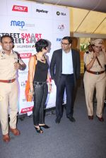 Mandira Bedi, Sunil Shetty at streetsmart street safe campaign launch by top gear magazine and mumbai police on  30th June 2015 (48)_5593af5f5e333.JPG
