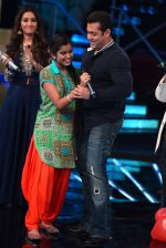 Salman Khan on the set of junior indian idol on 30th June 2015