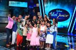 Salman Khan, Sonakshi Sinha on the set of junior indian idol on 30th June 2015