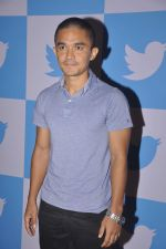 Sunil chetri at twitter India Event on 30th June 2015 (15)_5593af3829e33.JPG