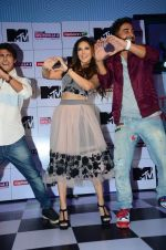 Sunny Leone, Rannvijay Singh at mtv splistvilla bash in Mumbai on 30th June 2015 (24)_5593c7734deac.JPG