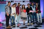 Sunny Leone, Rannvijay Singh at mtv splistvilla bash in Mumbai on 30th June 2015 (27)_5593c8147be4d.JPG