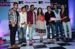 Sunny Leone, Rannvijay Singh at mtv splistvilla bash in Mumbai on 30th June 2015 (28)_5593c7749f032.JPG