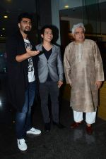 Arjun Kapoor, Javed Akhtar at the launch of Me Mia Multiple book in Bandra, Mumbai on 1st July 2015