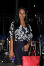 Poonam Pandey snapped at airport in Mumbai on 1st July 2015