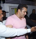 Salman Khan snapped near Galaxy apartments for a Star Gold shoot on 1st July 2015