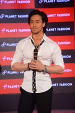 Tiger Shroff at Planet Fashion show in Taj Lands End on 1st July 2015