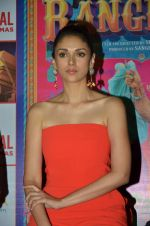 Aditi Rao Hydari Cast of Guddu Rangeela launch Carnival Cinemas, 122nd cinema at Oshiwara on 2nd July 2015