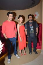 Aditi Rao Hydari, Amit Sadh, Arshad Warsi Cast of Guddu Rangeela launch Carnival Cinemas, 122nd cinema at Oshiwara on 2nd July 2015
