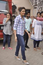 Huma Qureshi snapped at Mehboob, Mumbai on 2nd July 2015
