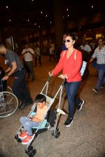 Kajol return from London along with mom and kids on 2nd july 2015