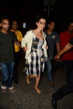 Kangana Ranaut reurns from London in Mumbai Airport on 2nd July 2015 (21)_559630a228347.JPG