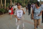 Kiran rao supports the FTII cause and joins the protest at carter road on 2nd July 2015
