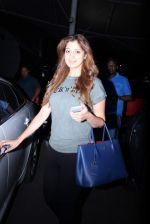 Laxmi Rai snapped at domestic airport in Mumbai on 2nd July 2015