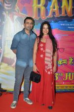 Mayank Anand, Shraddha Nigam at Guddu Rangeela premiere in Mumbai on 2nd July 2015 (110)_55963625e9163.JPG
