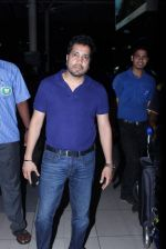 Mika Singh snapped at domestic airport in Mumbai on 2nd July 2015