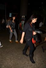 Sanjay Kapoor with wife Maheep in Mumbai Airport on 2nd July 2015 (14)_559630a7d09dc.JPG