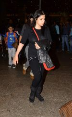 Sanjay Kapoor with wife Maheep in Mumbai Airport on 2nd July 2015