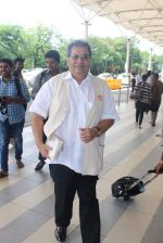 Subhash Ghai snapped at domestic airport in Mumbai on 2nd July 2015