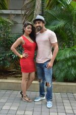 Aashish Chaudhary on the sets of Jhalak Dikhla Jaa 8 in Hard Rock Cafe on 3rd July 2015 (231)_5597ca195110f.JPG