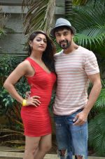 Aashish Chaudhary on the sets of Jhalak Dikhla Jaa 8 in Hard Rock Cafe on 3rd July 2015