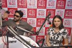Aditi Rao Hydari, Arshad Warsi at Guddu Rangeela team at Red Fm in Lower Parel on 3rd July 2015