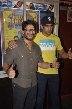 Arshad Warsi, Amit Sadh at Guddu Rangeela promotions in Gaiety on 3rd July 2015