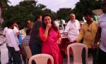 Juhi Chawla alongwith Crew members at Iftaar party during the shoot of Surani Pictures  _Chalk N Duster_.2