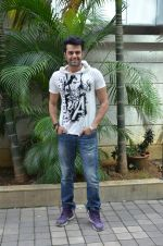 Manish Paul  on the sets of Jhalak Dikhla Jaa 8 in Hard Rock Cafe on 3rd July 2015