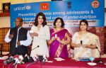 Priyanka Chopra, UNICEF Goodwill Ambassador Engages with Adolescentsto Highlight the Importance of Anaemia Prevention in Bhopal on 3rd July 2015