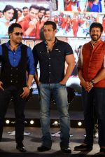 Salman Khan, Mika Singh, Kabir Khan at Bajrangi Bhaijaan song launch in J W Marriott on 3rd July 2015