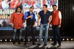 Salman Khan, Mika Singh, Kabir Khan, Pritam Chakraborty at Bajrangi Bhaijaan song launch in J W Marriott on 3rd July 2015