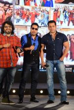 Salman Khan, Mika Singh, Pritam Chakraborty at Bajrangi Bhaijaan song launch in J W Marriott on 3rd July 2015
