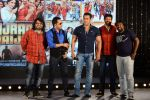 Salman Khan, Mika Singh, Pritam Chakraborty, Kabir Khan at Bajrangi Bhaijaan song launch in J W Marriott on 3rd July 2015
