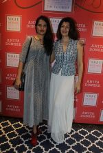 Sangeeta Bijlani, Sona Mohapatra at Anita Dongre and Vogue Wedding show preview in Khar on 3rd July 2015