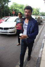 Rahul Dev snapped at domestic airport in Mumbai on 4th July 2015