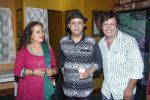 Himani Shivpuri, Rajesh Puri at Sab Golmaal Play premiere in Rangsharda on 5th July 2015