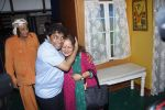 Johnny Lever, Himani Shivpuri at Sab Golmaal Play premiere in Rangsharda on 5th July 2015
