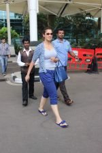Laxmi Rai snapped at domestic airport on 5th July 2015 (28)_559a16f24fc73.JPG