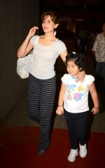 Riddhima Sahani snapped at international airport in Mumbai on 5th July 2015