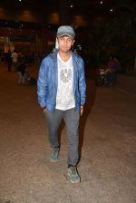 Sonu Nigam snapped at international airport in Mumbai on 5th July 2015