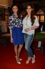 Daisy Shah, Zarine Khan at Hate Story 3 on location in Mumbai on 6th July 2015
