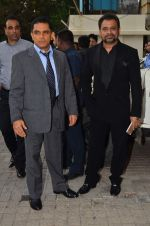 Firoz Nadiadwala, Anees Bazmee at Welcome back trailor launch in PVR, Juhu on 6th July 2015 (16)_559b6d027802c.JPG