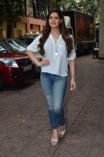 Zarine Khan at Hate Story 3 on location in Mumbai on 6th July 2015