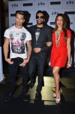 Bipasha Basu, Rocky S, Karan Singh at Rocky S launch in J W Marriott on 7th July 2015