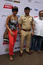 Mandira Bedi flags off the Street smart street safe women safety drive in Mumbai on 8th July 2015 (4)_559e7fdf0a90c.JPG